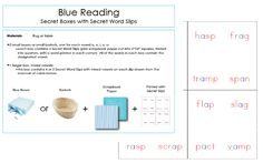 A collection of personally created montessori downloads for educators everywhere to use.