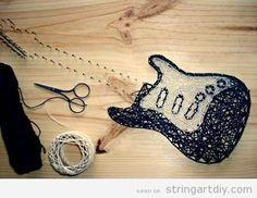 String Art DIY   Ideas, tutorials, free patterns and templates to make String Art
