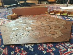The ultimate Settlers of Catan board