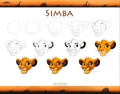 How to draw and paint simba   google search