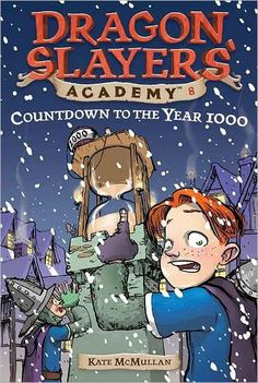 The Dragon Slayers Academy is a fantasy adventure series about an unlikely hero called Wiglaf, the soft-hearted, oft-bullied youngest of a large, poor family. Wiglaf does all the work and gets picked on because he won't kill any living thing. Then he learns how to be a dragon slayer. Filled with humour - this is a perfect beginner chapter-book series for reluctant readers.