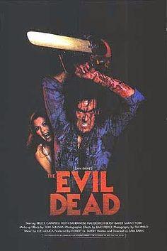 Les recomendamos la famosa cinta de terror estadounidense estrenada en 1981: The Evil Dead (Despertar del Diablo en México) dirigida y escrita por San Raimi