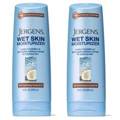 En CVS las Jergens Wet Skin Moisturizer de 10 oz SOLO $0.99 en CVS están a $7.99. Con la compra de $15 recibes $5 Extrabucks.