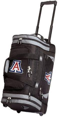 057674fe59c University of Arkansas Rolling Duffel Bag Official College Logo Arkansas  Razorbacks DUFFLE Wheeled Travel Gym Bags Luggage Bag with Wheels (Misc.