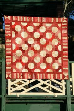 The bow tie pattern might be my new favorite.  England Street Quilts: Lincoln - My bow tie quilt