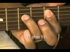 Guitar Lesson: How To Play Old School 12 Bar Blues EASY Prt 2 Beginners Moving Chords Up The Neck - YouTubed