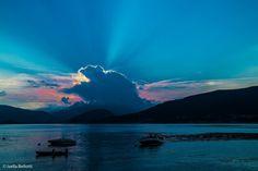 Lago Maggiore, visto da Luino