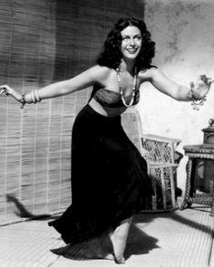 """Hedy Lamarr - in ''White Cargo"""" 1940"""