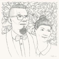 Double Wedding Portrait by Bartosz Kosowski, via Behance