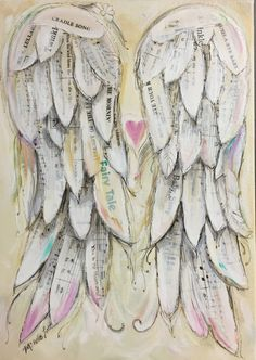 A personal favorite from my Etsy shop https://www.etsy.com/ca/listing/518163190/angel-wings-print-customized11x14