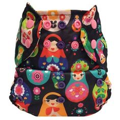 Bummis Mini Kiwi One Size Pocket Diaper - Cozy Bums Diapers