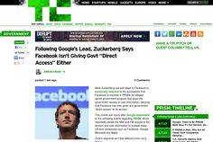http://techcrunch.com/2013/06/07/following-googles-lead-zuckerberg-says-facebook-isnt-giving-govt-direct-access-either/ ... | #Indiegogo #fundraising http://igg.me/at/tn5/