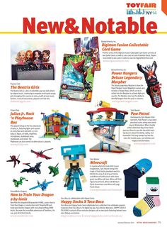 Toy Fair 2014 New & Notable Products