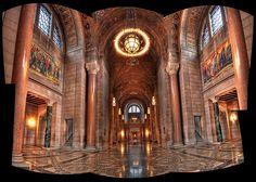 A view inside the Nebraska State Capitol..  http://www.visitnebraska.gov/component/myplanner/detail/43/2000212