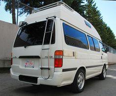 1994 Toyota Hiace Diesel Camper For Sale Calgary Canada