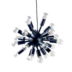 Fab.com | Cosmos Pendant Lamp Black  $125. I'm a sucker for modern chandeliers