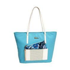 Καθημερινή τσάντα γαλάζια
