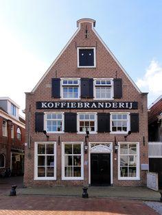 (Proeverij, eethuis) De Koffiebranderij, Legeweg ~ Dokkum, Friesland.