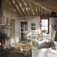 Living Room Rustic Design, Pictures, Remodel, Decor and Ideas