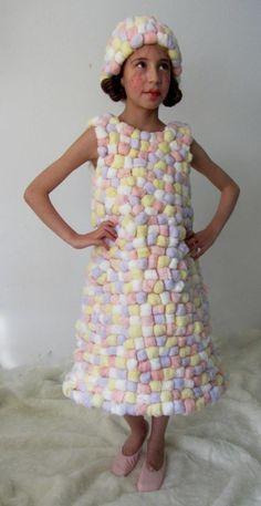 qu'elle est mignonne cette Robe Marshmallow! #carnaval #enfant