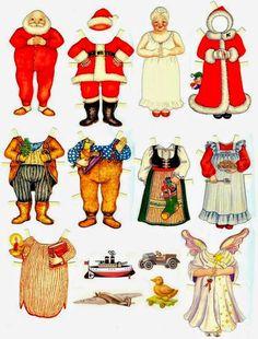 Soloillustratori: Le bambole di carta 1