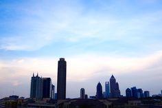 Visiting Atlanta, Georgia.