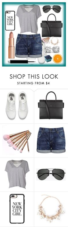 """""""Untitled #226"""" by anna-bigsis ❤ liked on Polyvore featuring Vans, Givenchy, Citizens of Humanity, Acne Studios, Yves Saint Laurent and Casetify"""