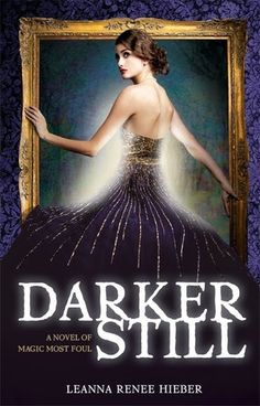 This book has a Picture Of Dorian Gray theme and this cover perfectly illustrates that! The dress is gorgeous and I love the glow around her and how she's stepping into the frame.