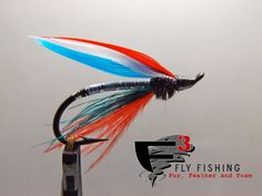 50% of the sale goes to Project Healing Waters. Classic Salmon Fly  The Patriot by F3FlyFishing on Etsy, $3.99