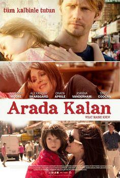 Arada Kalan - What Maisie Knew - 2012 - BRRip Film Afis Movie Poster