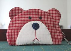 Teddy Bear Quilt Bag Tutorial