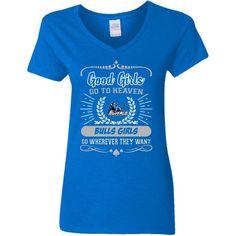 size 40 525cf 937f3 Good Girls Go To Heaven Buffalo Bulls Girls T Shirts