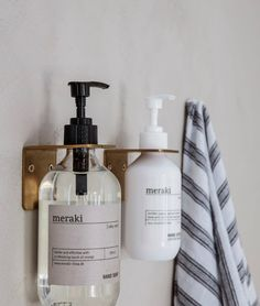 Douche Design, Home Spray, Boutique Deco, Support Mural, Soap Pump, Soap Holder, Wall Brackets, House Doctor, Liquid Soap