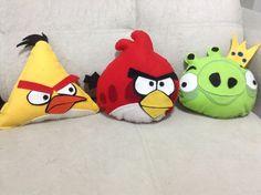 Angry Bird almofadas de feltro