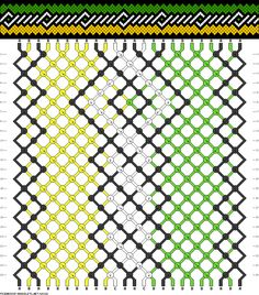 24 strings, 24 rows, 4 colors