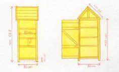 Backyard Storage Sheds, Garden Tool Storage, Shed Storage, Garden Tools, Bookcase Closet, Shed Plans, Blog, Allotment, Hammock
