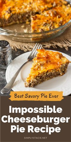 Grilling Recipes, Meat Recipes, Cooking Recipes, Bisquick Recipes, Chicken Recipes, Recipies, Healthy Recipes, Easy Meat Pie Recipe, Cheeseburger Pie