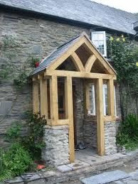 building a timber framed porch - Google Search