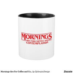 Shop for the perfect stranger gift from our wide selection of designs, or create your own personalized gifts. Stranger Things Gifts, Perfect Strangers, Mornings, Shot Glass, Personalized Gifts, Create Your Own, Coffee Mugs, Tableware, Design