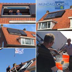 Mijndaglicht.nl bv levert het 1ste ROTO FRANK AZURO panoramisch daglichtsysteem van Nederland. Bij opening is de sparing in het dak 260x170cm. Met dank aan Dakvenstermeesters montage keurmerk leden Klussenier Martin de Jong en Harskamp Daken voor de montage!