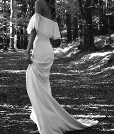 Edwina Arya is an independent family run luxury bridal brand in Ireland. For the modern no-fuss bride, available worldwide. Our gowns are vegan and cruelty free. Ea, Wilderness, One Shoulder Wedding Dress, Gowns, Running, Bride, Wedding Dresses, Modern, Inspiration