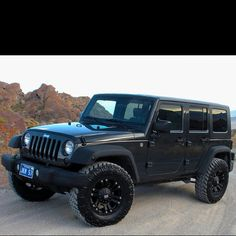 Blacked Out Jeep Wrangler Unlimited.....WANT