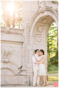 Magical engagement photos in Guildwood Park, Scarborough. Beautiful pictures The Guild Inn. Engagement Pictures, Wedding Pictures, Wedding Ideas, Wedding Couples, Wedding Engagement, Engagement Photography, Wedding Photography, Scarborough Bluffs, Wedding Venues Toronto