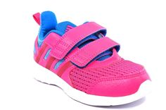 best website 9ee61 be2d0 ADIDAS AF4489 HYPERFAST 2 CF FUCSIA Azzurro Running Ragazza Sneakers Strappi