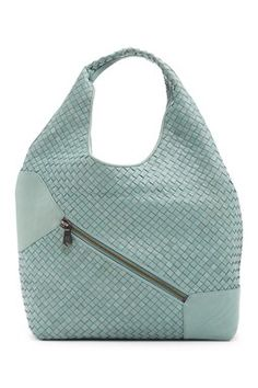 Weekend Weave Leather Hobo