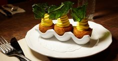 Butterfunk Kitchen - At Butterfunk Kitchen, the deviled eggs are made wickeder by breading and - The New York Times