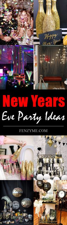 <3 7 Fun New Years Eve Party Ideas for 2017 | New Years Eve Party Ideas | Fenzyme.com <3