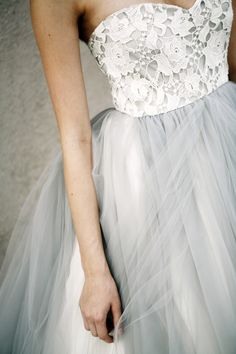 #Couture Wedding Gown - Designed by Elizabeth Dye | Photography: Belathee Photography | Feature on SMP: http://www.stylemepretty.com/2013/11/12/fashion-shoot-from-elizabeth-dye-hayley-sheldon-belathee-photography