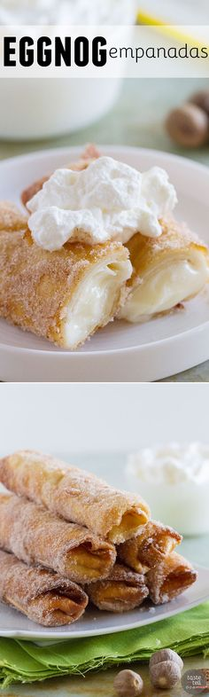 They may not be traditional, but these Eggnog Empanadas will have you licking your fingers and begging for another! They are a fun holiday twist on a favorite restaurant copycat.