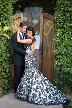 25 Gorgeous Black Wedding Dresses Color Inspiration Dress Ideas And Black Mermaid